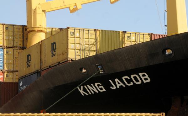 The King Jacob, a Portuguese-flagged cargo vessel, was the first ship to arrive near the migrant boat that sank off the Libyan coast over the weekend. The boat had been carrying more than 800 people.