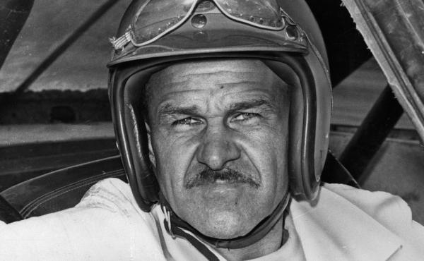 Wendell Scott, pictured here in 1969, is the first — and only — black man to win a race in NASCAR's top series.