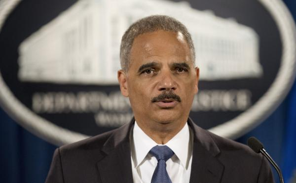 Attorney General Eric Holder, pictured Sept. 4, says