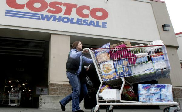 As of Monday, Costco customers have to ditch their old Costco credit cards and switch to new ones to pay for those jumbo-sized items in their shopping carts.