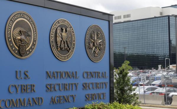 A 2013 photo shows the National Security Agency campus in Fort Meade, Md.