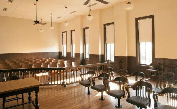 """Mississippi state Sen. David Jordan, who was a college student in 1955, remembers the relaxed atmosphere in the courtroom during the trial. """"Even the jury were laughing,"""" he says."""