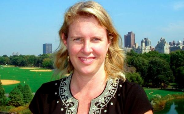"""Tracy Hart, a water resource economist in Washington, D.C., submitted six words to The Race Card Project: Yes, I'm tobacco-pickin' white trash. In submitting her words and photo, she says she was taking ownership. """"This is who I am, and if I'm going to un"""