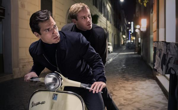 Henry Cavill (left) and Armie Hammer star as CIA agent Napoleon Solo and KGB agent Illya Kuryakin in Guy Ritchie's reboot of The Man From U.N.C.L.E.