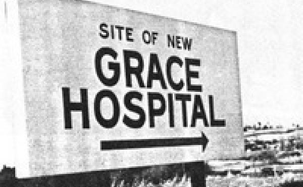 Grace Hospital in Morganton, N.C., was funded in part by the Hill-Burton Act. Construction began in 1969.