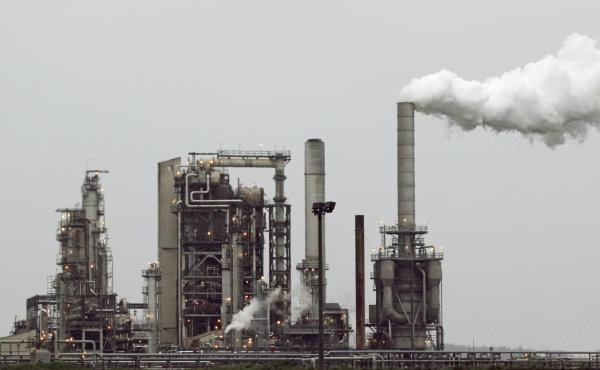 A refinery in Anacortes, Wash. In 2016, voters in Washington state rejected an initiative that would have taxed carbon emissions from fossil fuels such as coal and gasoline.