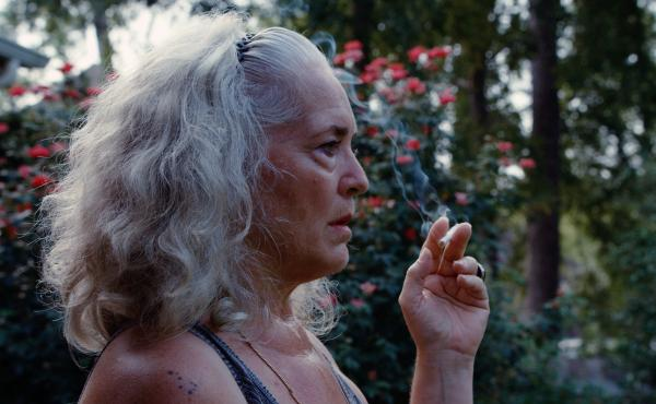 Krisha Fairchild in the feature-length adaptation of the 2014 short film Krisha.