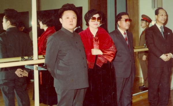 Not So Lonely Anymore: (L to R) Kim Jong Il, Choi Eun Hee and Shin Sang Ok in The Lovers and the Despot.