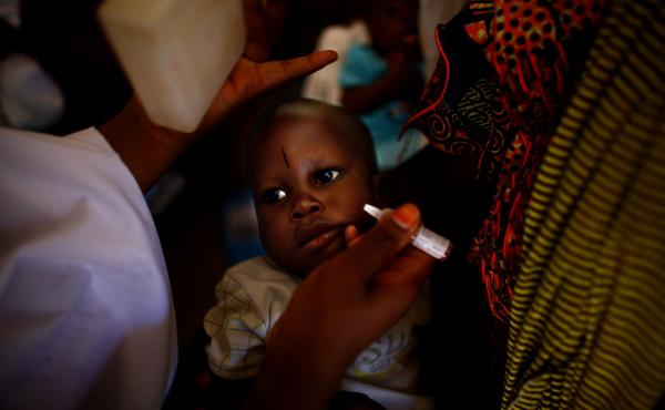 No trace of polio has been found in Nigeria since July 2014. Above, a child at a health clinic there is immunized. New findings about how long the polio virus can be excreted by some individuals make it clear that vaccine vigilance is critical.