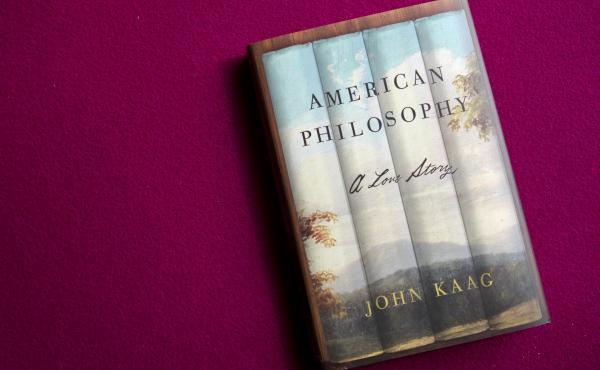 American Philosophy by John Kaag (Raquel Zaldivar/NPR)