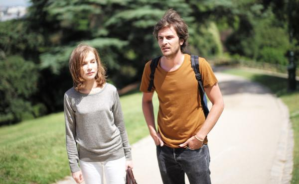 Isabelle Hupert and Roman Kolinka in Things to Come, a film by Mia Hansen-Løve.