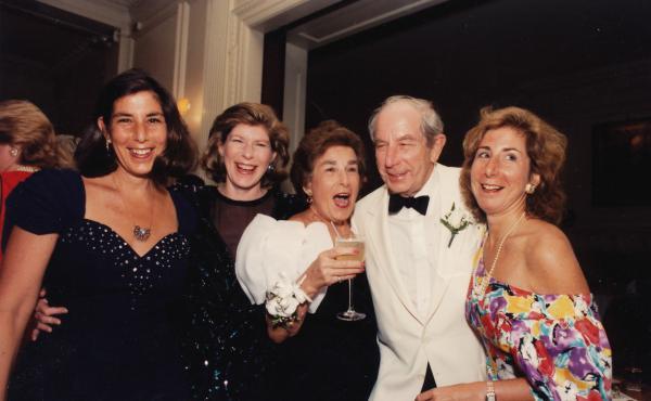 The Totenberg family (from left): Amy, Nina, Melanie, Roman and Jill
