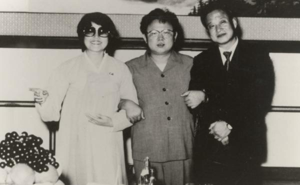 South Korean actress Choi Eun-hee (left) and director Shin Sang-ok (right) made nearly 20 films for their captor, Kim Jong Il.