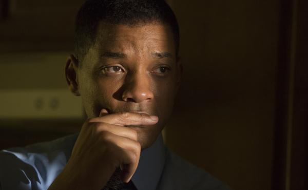 "Will Smith plays neuropathologist and Nigerian immigrant Bennet Omalu in Concussion. He says the role was exhilarating: ""You know, Will Smith with a Nigerian accent could go really, really wrong."""