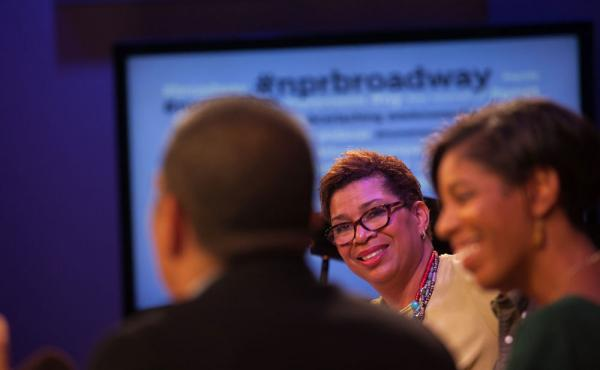 As Friday's panel chatted on, a lively, honest and engaging conversation was also happening on Twitter. Check out #NPRBroadway for more.