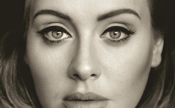 The cover image of Adele's third album, 25.