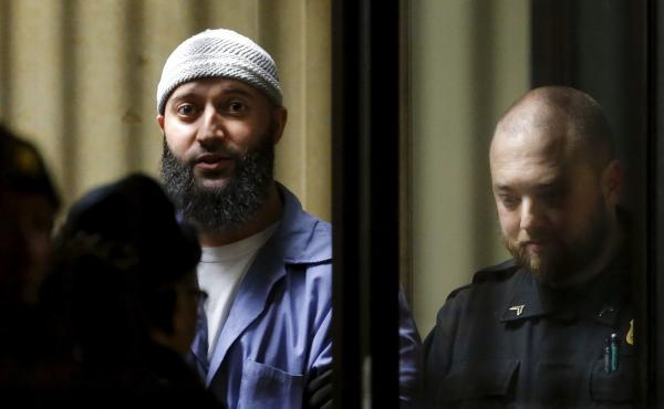 Adnan Syed leaves the Baltimore City Circuit Courthouse in Baltimore on Feb. 5. He's now been granted a new trial.