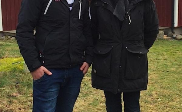 Dagmar Nordberg, a Swedish museum director, met Waliullah Hafiz, an asylum-seeker from Kabul, on a train platform last November. He'd fled Afghanistan after refusing to transport bottle bombs for the Taliban.