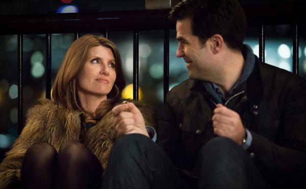 Sharon Horgan and Rob Delaney co-star in the new Amazon romantic comedy, Catastrophe.