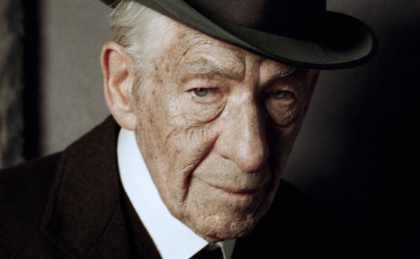 Ian McKellen in Mr. Holmes.