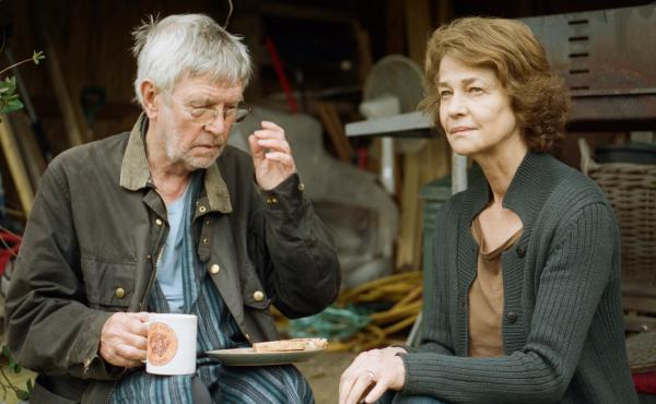 Tom Courtenay and Charlotte Rampling are a long-married couple unsettled by a revelation from his past in 45 Years.