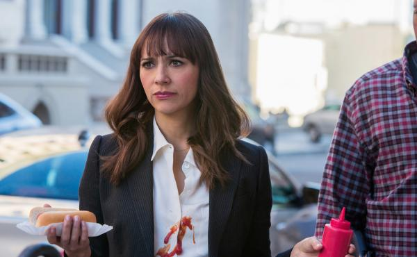 Rashida Jones in Angie Tribeca.