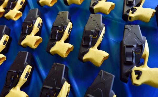 Jaime Caetano was convicted of violating the Massachusetts' ban on stun guns after one was found in her purse.