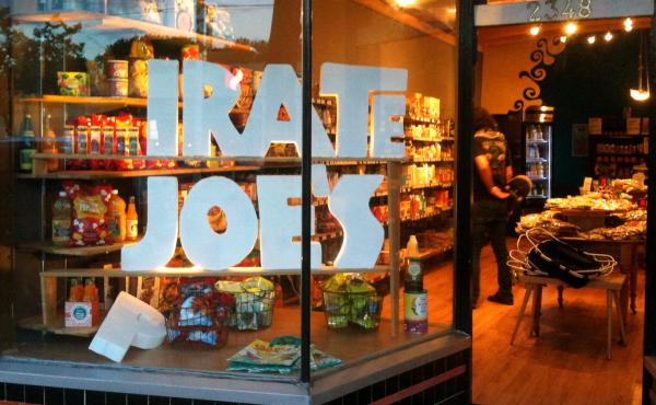"""The original (P)irate Joe's was once a Romanian bakery. Then it became """"Transilvania Trading,"""" the mysteriously labeled storefront where Mike Hallatt sold Trader Joe's items to people who were in on the secret. After Trader Joe's started objecting, Hallat"""