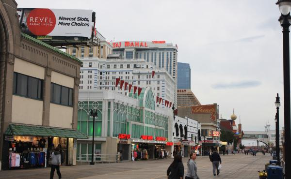 Atlantic City, N.J., has seen four casinos close this year, and a fifth may soon follow. Officials are trying to diversify the city's economy by weaning itself from gambling, its biggest industry.