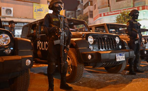Egyptian security forces take up positions during anti-government demonstrations in Cairo last November. Egyptian activists have been disappearing in growing numbers, and human rights groups say they believe the security forces are responsible.