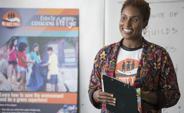 Issa Rae stars in the new HBO series Insecure.
