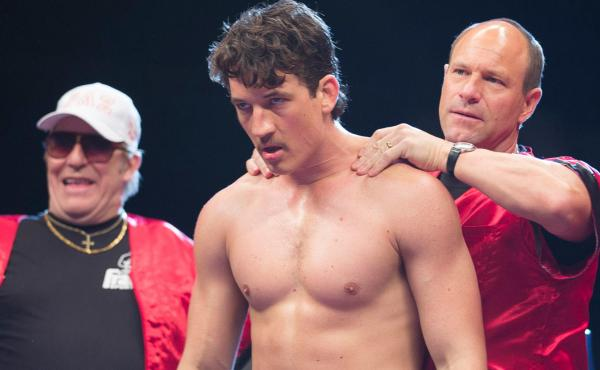 Miles Teller plays boxer Vinny Pazienza, who returned to the ring after a spinal injury.
