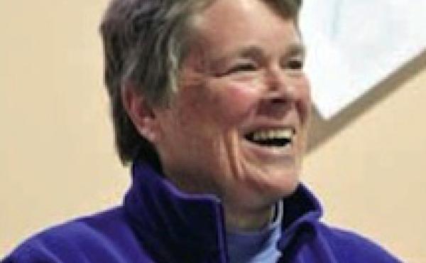 A portrait of Pat Deegan.