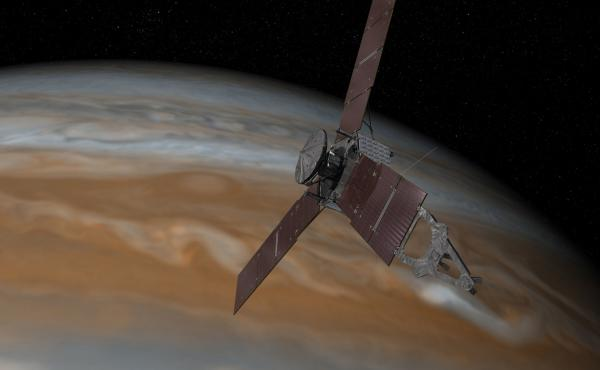 """When it named this mission, NASA acknowledged its difficulty. Juno was a Roman goddess, the agency notes, """"who was Jupiter's wife, and who could also see through clouds."""""""