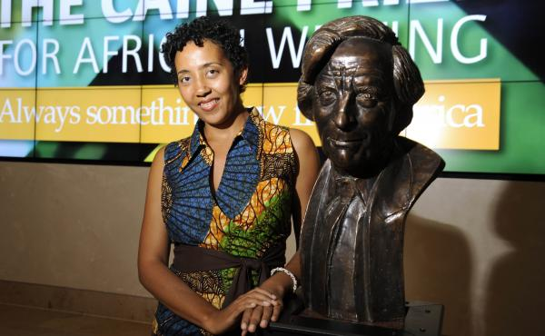Namwali Serpell, this year's winner of the Caine Prize.