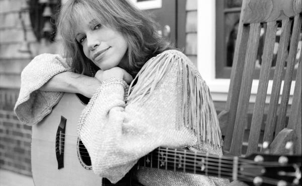 """Singer-songwriter Carly Simon is known for the songs """"You're So Vain"""" and """"Let the River Run""""."""