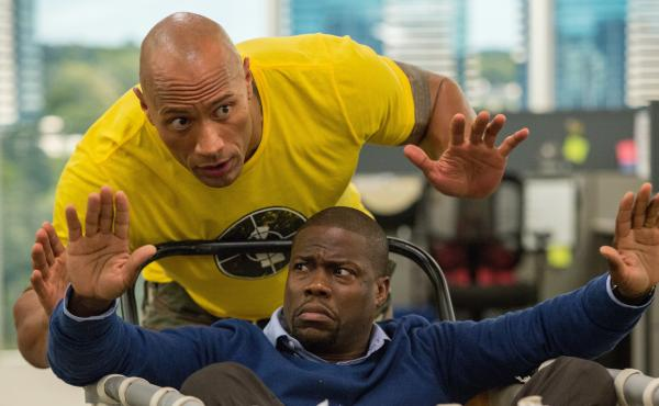 Dwayne Johnson and Kevin Hart star in the new action comedy Central Intelligence.