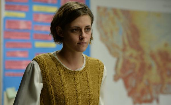 Kristen Stewart as Beth Travis from Kelly Reichardt's Certain Women.