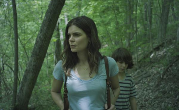 Claire (Betsy Brandt) and son Connor (Zev Haworth) search for closure in Claire in Motion.