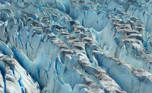 Many glaciers are melting in Alaska. Scientists believe climate change is at work.