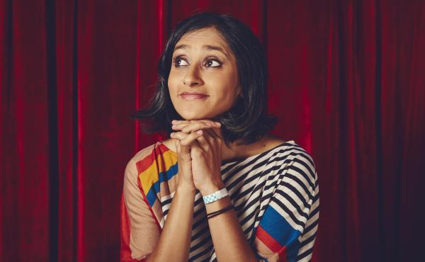 """Aparna Nancherla says that making jokes about depression and anxiety injects """"a little dose of hope."""""""
