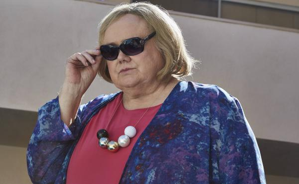 Louie Anderson says he thought of his mom and sisters when selecting clothes for his character Christine Baskets on the FX series Baskets.