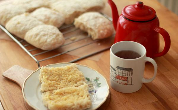 """A blaa is a soft, doughy white roll – with either a soft or crusty top. It has a chewy texture that makes it a perfect vehicle for butter. Only the ones baked in Waterford, Ireland, can officially be called """"blaa,"""" but you can try out the recipe below a"""