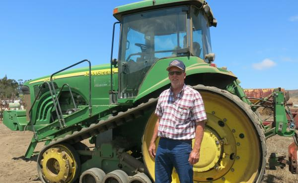 Farmer Dave Alford can't fix his own tractors like this one because it's run by software with proprietary digital locks.