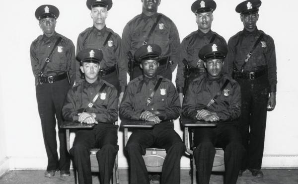 In 1948, eight African-American men joined the Atlanta police force. They could not drive squad cars, step foot in police headquarters, or arrest white citizens. They are the inspiration for Thomas Mullen's new novel, Darktown.