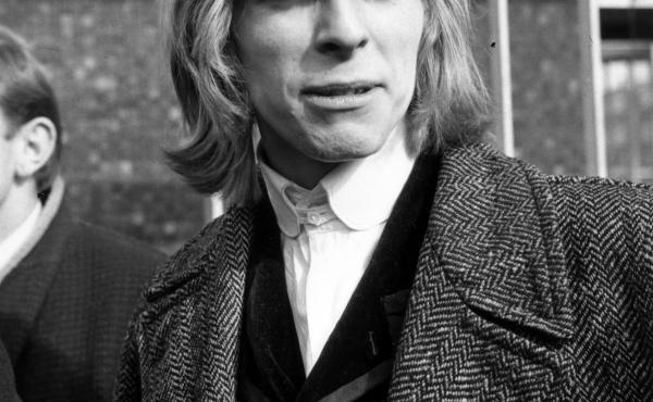 David Bowie in 1965 when he was known as David Jones. He changed his name that year.