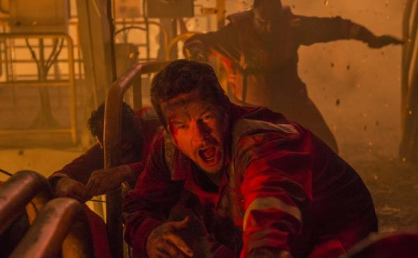 Mark Wahlberg in the terse, tight Deepwater Horizon.