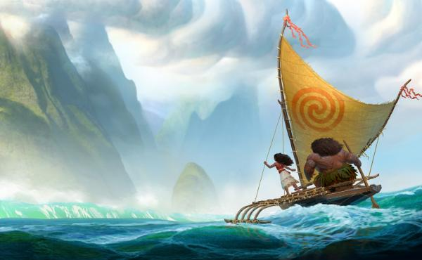 The animated Disney movie Moana is a comedy-adventure about a spirited teenager on a mission to fulfill her ancestors' quest.