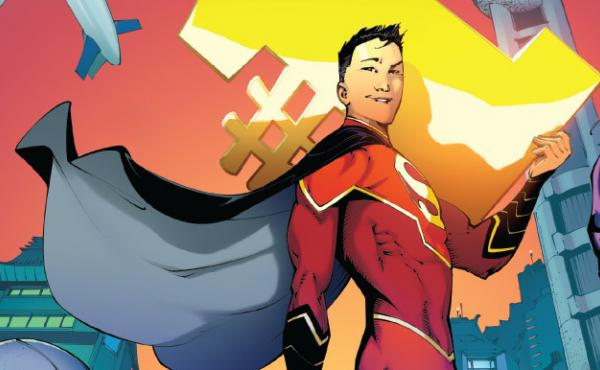 Kong Kenan, who's Chinese, takes up the mantle of Superman in New Super-Man #1, written by Gene Yang.