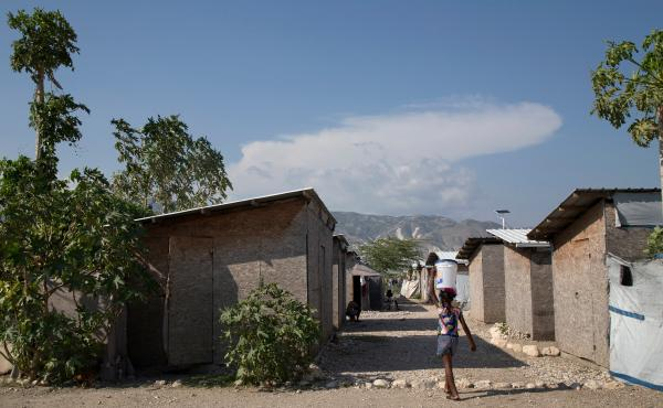 The Red Cross funded these homes in the Parc Tony Colin community in Bon Repos, Haiti, after the 2010 earthquake, but residents say the structures are starting to deteriorate from water damage. Newly obtained internal reports raise questions about how the
